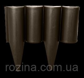 Палісад, PALGARDEN, коричневий, 2,5 м, OBP1202-002BN