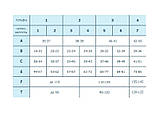 Панчохи жіночі, компресія мм.рт.ст. I (18-21); тип миска: закритий, фото 2