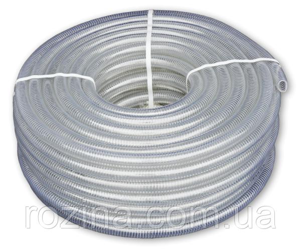 Шланг вакуумно-напірний, METAL-FLEX, з оцинкованої спіраллю, 12мм/30м, MF12