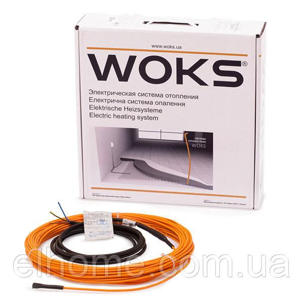 Тонкий нагревательный кабель WOKS 10-990