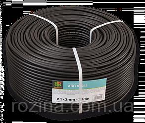 BRADAS Шланг технический BLACK 5 х 2мм, 20bar, AH05*2BK