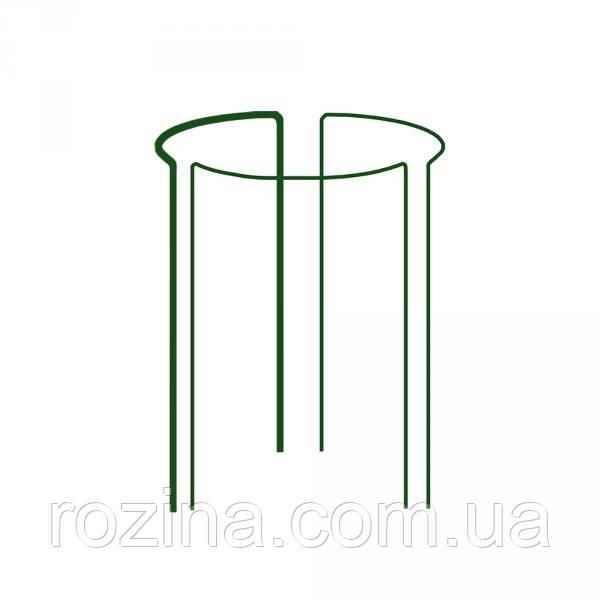 Кольцевая опора для растений, 1/3 круга,  D=40см, H=60см, TYRP34060