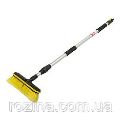 Щітка для миття з телескопічною ручкою, 160см, ЖИРАФ, ESQ2073