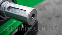 Подрібнювач гілок Grunwelt GW-130/6 (110 мм, 6 ножів, ВОМ, 25 л. с.), фото 4