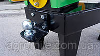 Подрібнювач гілок Grunwelt GW-130/6 (110 мм, 6 ножів, ВОМ, 25 л. с.), фото 8
