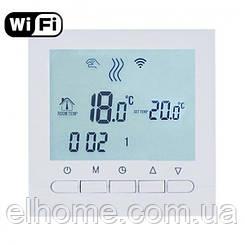 Програмований терморегулятор EcoTerm KN WI-FI WhiteWhite
