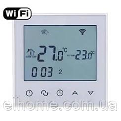 Програмований терморегулятор EcoTerm SN WI-FI White