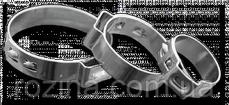 Хомут затискний безступінчатий BHY 22,5-25мм / 7мм, BHY250
