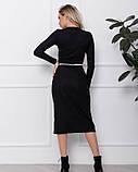 Платья ISSA PLUS 12439  S черный, фото 3