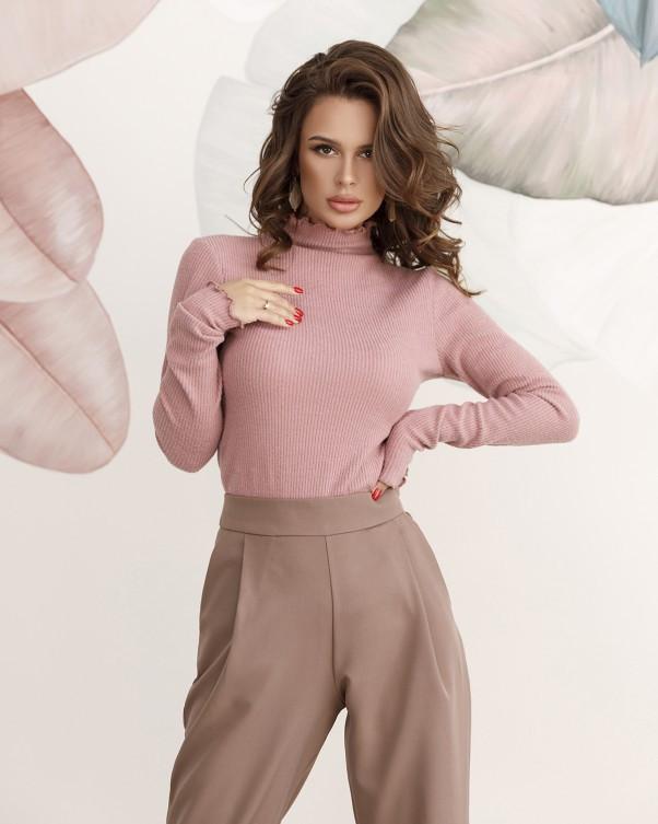 Свитера ISSA PLUS 12215  S розовый