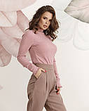 Свитера ISSA PLUS 12215  S розовый, фото 2
