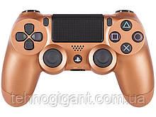 Джойстик Sony PS 4 DualShock 4 Wireless Controller, Безпровідний джойстик для PS4,DualShock 4 Золотий Репліка