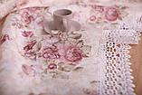 Скатерть Праздничная с Кружевом 110-150 3D «Beautiful» Прямоугольная №12, фото 2