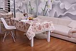 Скатерть Праздничная с Кружевом 110-150 3D «Beautiful» Прямоугольная №12, фото 4