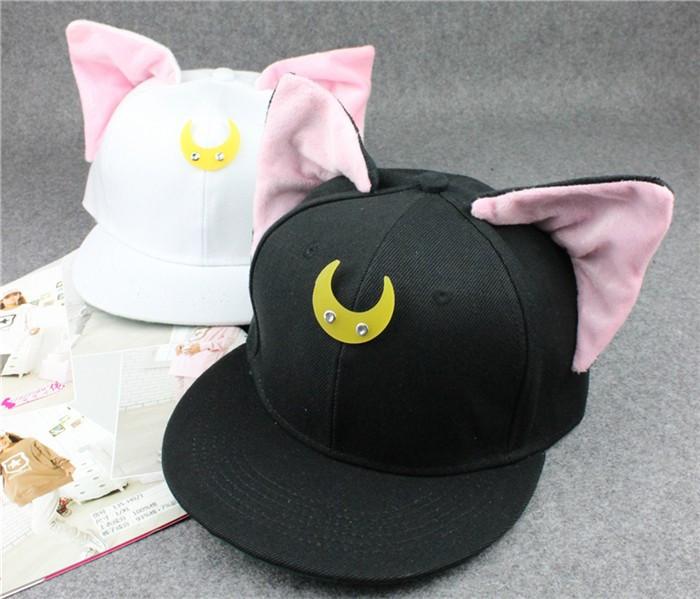 Оригинальная молодежная кепка с ушками для девушек. Элегантный образ. Стильный головной убор. Код: КД27