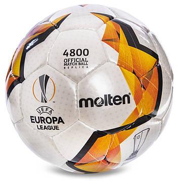 Мяч футзальный №4 ламин. MOLTEN F9V4800-KO, фото 2