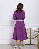 Платья ISSA PLUS 12352  S сиреневый, фото 3