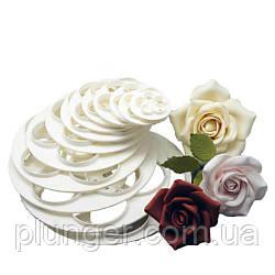 Набір кондитерських вирубок Троянда велика, в наборі 6 шт