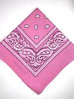 Женский платок (розовый)