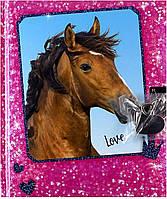 Дневник для записей на замочке розовый Horses Dreams (4010070350994)