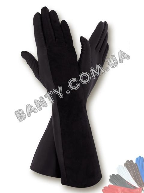 Довгі жіночі рукавички модель 052