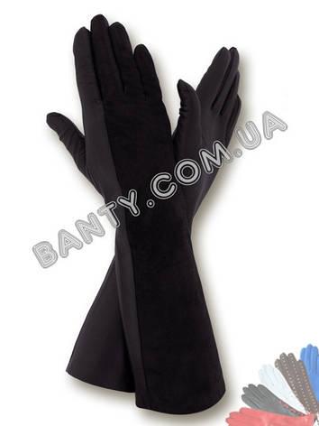 Довгі жіночі рукавички модель 052, фото 2