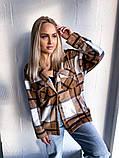 Женская куртка рубашка в клетку, фото 6
