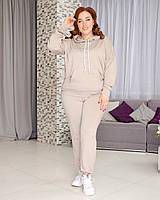 Костюм спортивный женский, двунить БАТАЛ (50-56) оптом купить от склада 7 км Одесса