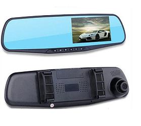 Автомобильный видеорегистратор (авторегистратор зеркало заднего вида) DVR 138EH с одной камерой