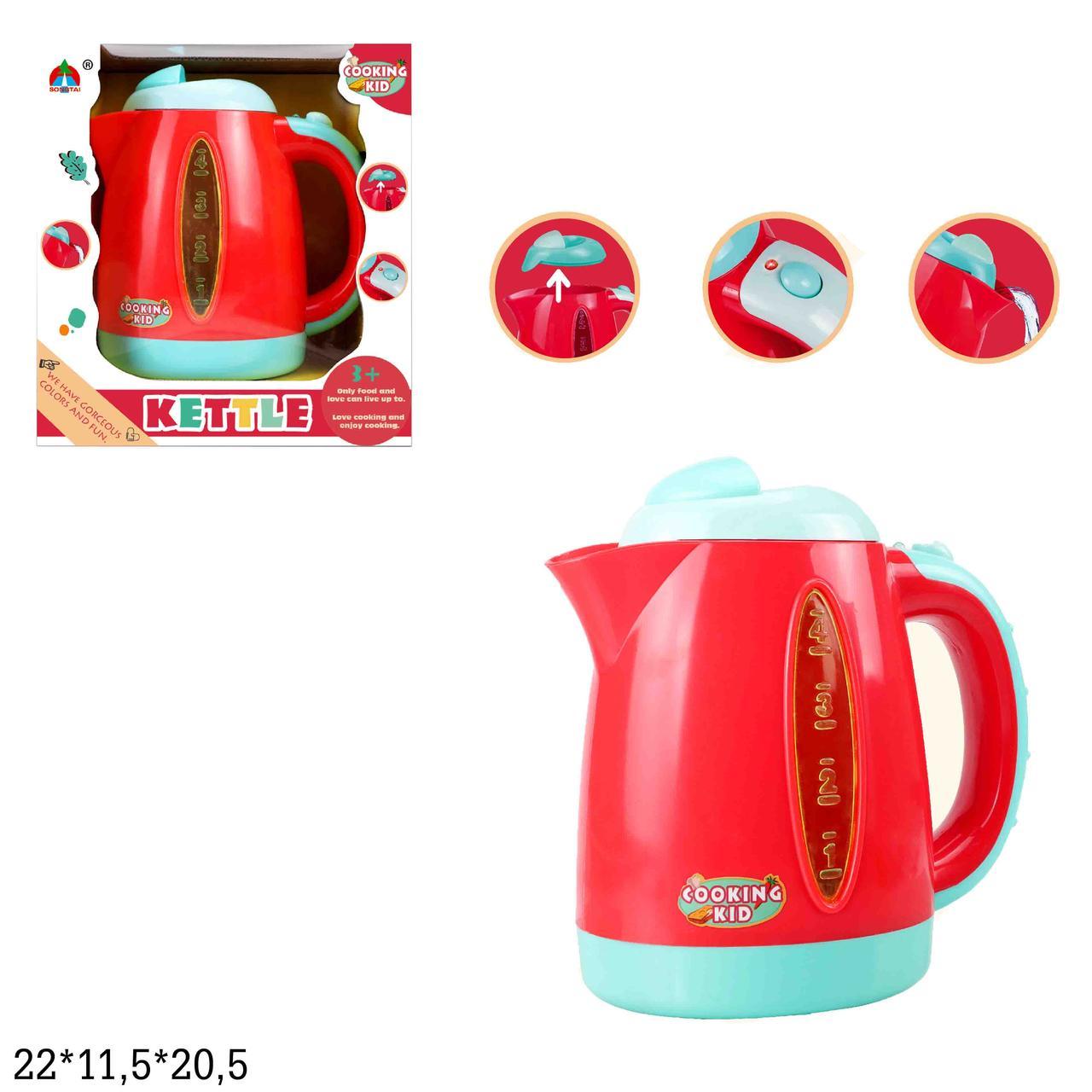Игрушечный Чайник электрический арт.6205