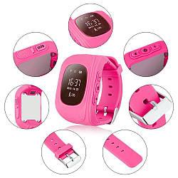 Дитячі розумні годинник smart baby watch q50 з gps трекером. Дитячі розумні годинник