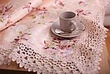 Скатерть Праздничная с Кружевом 110-150 3D «Beautiful» Прямоугольная №15, фото 2