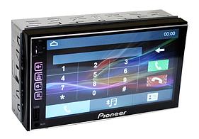 "Автомагнитола 2 DIN 7024 короткая база GPS  7"", Магнитола 2 дин с SD и USB разьёмом"
