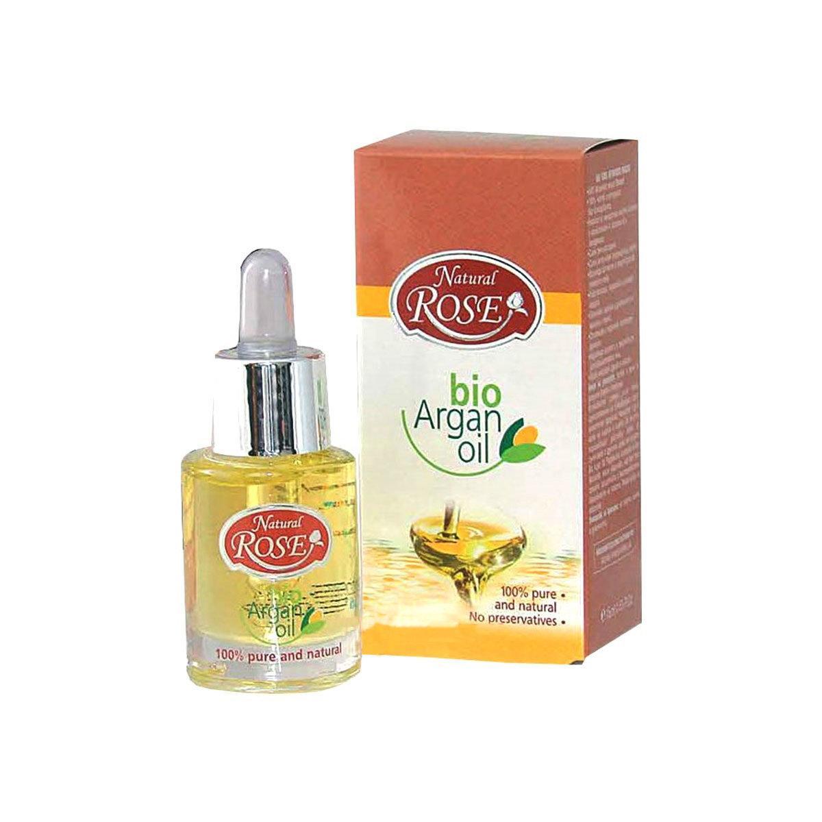 Органічна Арганова олія Natural Rose Bio Argan oil від Arsy cosmetics 15 ml