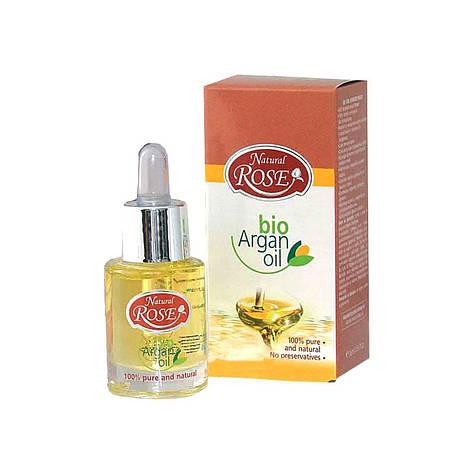 Органічна Арганова олія Natural Rose Bio Argan oil від Arsy cosmetics 15 ml, фото 2