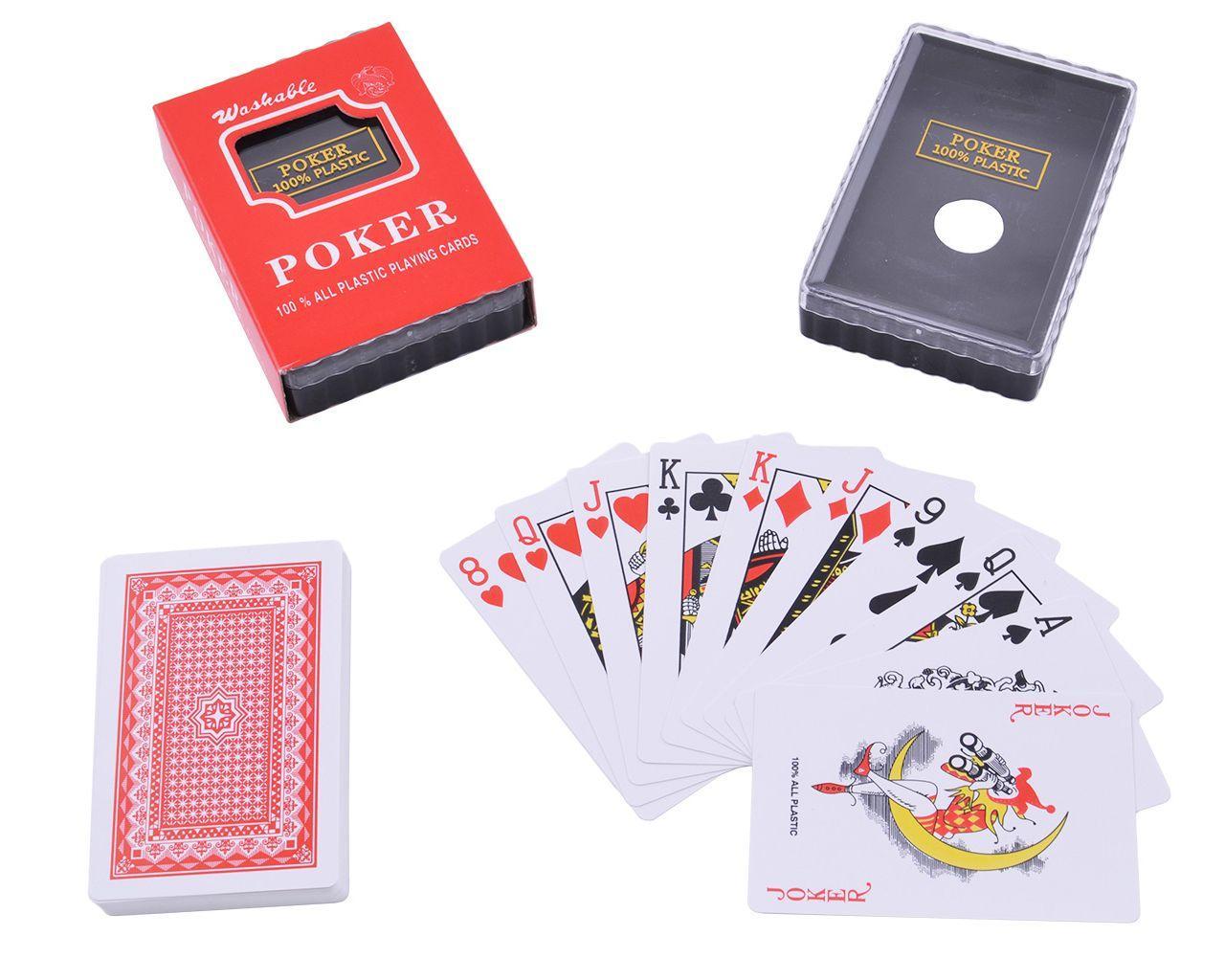 Пластикові картки poker (54 шт)