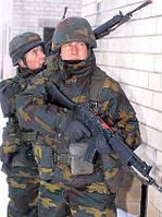 Перчатки армейские кожаные. Патрульные, повседневные. Бельгия. Воловья кожа.