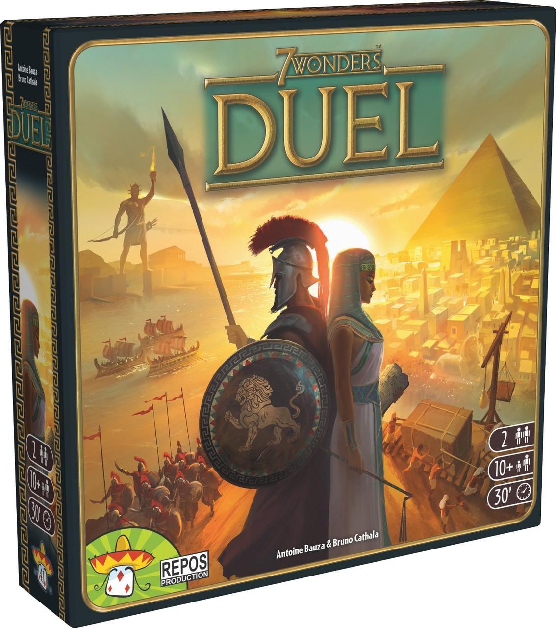 Настольная игра 7 Wonders: Duel (eng)