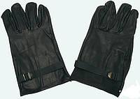Перчатки армейские кожаные. Патрульные, повседневные. Бельгия. Воловья кожа., фото 1