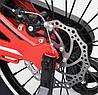 Детский Велосипед CORSO MG-18 (с усиленными спицами), магниевая рама, диск тормоза, фото 2