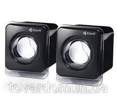 Колонки Мощные Kisonli V410 для ПК Сабвуфер USB
