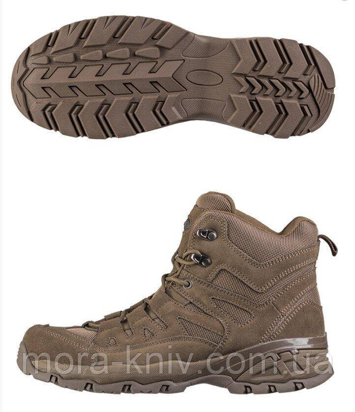 Mil-Tec Squad Boots Brown Взуття тактичне EU42
