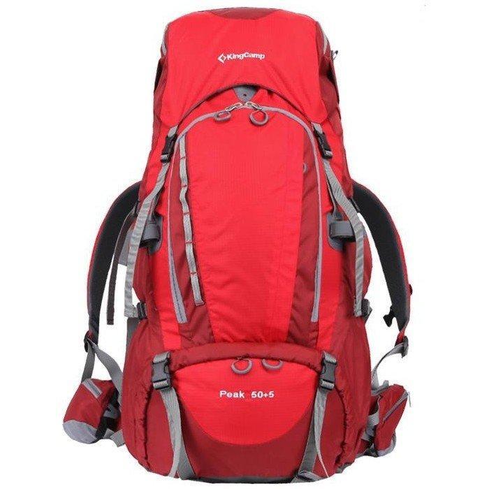 Рюкзак KingCamp Peak 50 + 5 (KB3249) Red