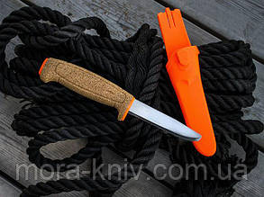 Ніж Morakniv Floating Serrated Knife, нержавіюча сталь,  пробкова ручка, 13131, фото 2