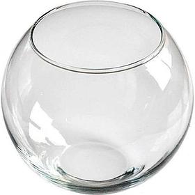 Декоративный аквариум круглый 100х120 мм для рыбок 0,7л Пет Импекс 24017