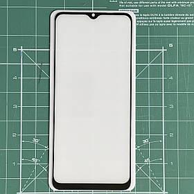 Захисне скло 6D Full Glue Realme C11 Black / без упаковки /