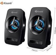 Колонки Kisonli Мощные L-3030 для ПК Сабвуфер USB
