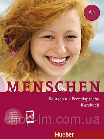 Menschen A1 Kursbuch mit AR-App (учебник по немецкому языку), фото 2
