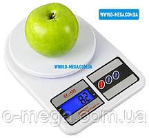 Кухонні електронні ваги від 3 г до 10 кг SF400 з підсвічуванням