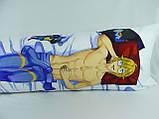 Подушка для обнимания 150 х 50 Джин обнимашка Дакимакура аниме ростовая односторонняя, фото 2